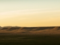 The steppes of eastern Wyoming at sunset.