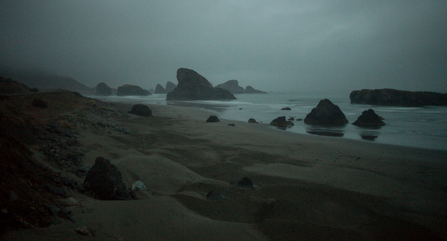 Dawn near Gold Beach, OR.