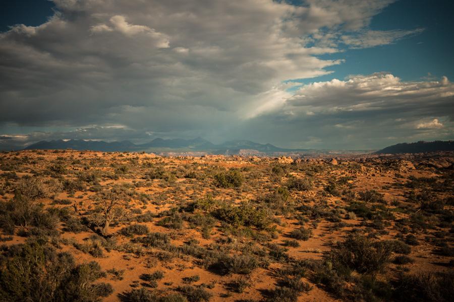 The Utah landscape.