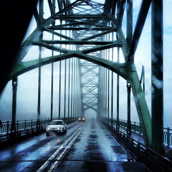 One of many gorgeous bridges along Hwy 101.
